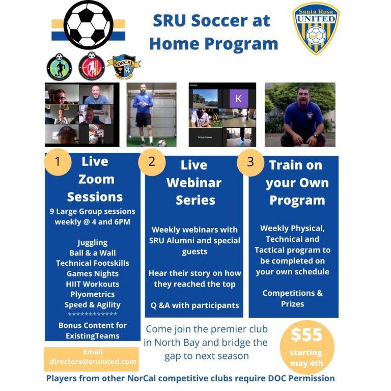 Santa Rosa United Soccer At Home Program